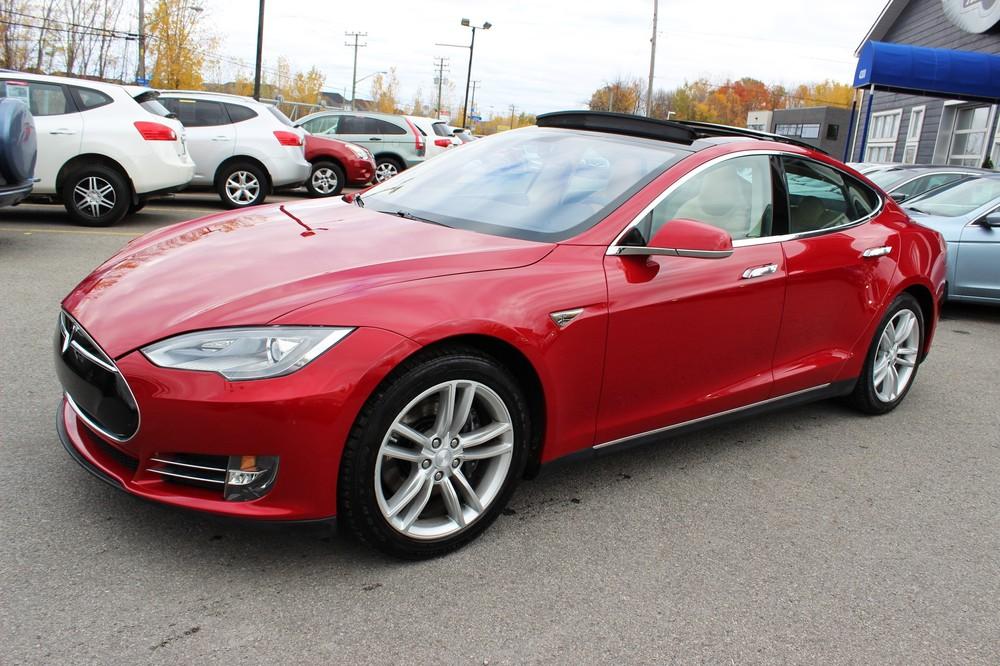 2013 Tesla Model S *NEW WINTER TIRES* - Laval - 58 210 km - Online ...
